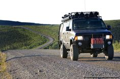 Traveling The Alcan Hywy In A 4x4 Van