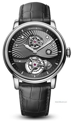 Arnold & Son - T8 Tourbillon. Arnold & Son unveils two new references of its TE8 Tourbillon, with the hand-finished A&S8000 calibre.