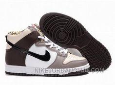 http://www.nikejordanclub.com/canada-mens-nike-dunk-high-top-shoes-brown-black-white.html CANADA MENS NIKE DUNK HIGH TOP SHOES BROWN BLACK WHITE Only $94.00 , Free Shipping!