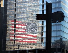 Atheists are trying to remove Christianity from American life. Their latest target is the cross found in the rubble of the World Trade Center. Sunday Sermons, Ground Zeroes, Patriots Day, Law And Justice, 11. September, Land Of The Free, Old Glory, World Trade Center, God Bless America
