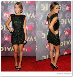 love this dress and Lauren Conrad's style!