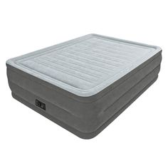 Intex Comfort Plush Elevated Dura-Beam Airbed, Bed Height 22', Queen >>> You can get more details here : Sleeping Bags and Camp Bedding