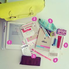 Super cool 'What's in my bag' from paperedthoughts