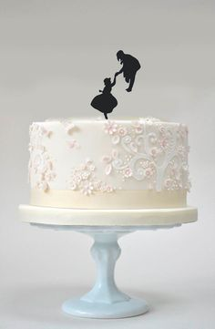 Howl and Sophie Cake Topper by Bee3DGifts on Etsy