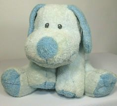 Ty Pluffies Baby Whiffer Blue Puppy Dog Stuffed Animal Plush 2006 Sewn Eyes  #Ty Ty Babies, Baby Dogs, Dogs And Puppies, Stuffed Animals, Dinosaur Stuffed Animal, Pillow Pals, Ty Beanie Boos, Baby Lovey, Blue Dog
