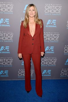 Pin for Later: Die Stars feiern weiter bei den Critics' Choice Movie Awards! Jennifer Aniston