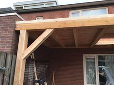 Overkapping met lichtkoepel - Overkapping Specialist Brabant Wood Construction, Outdoor Structures, Outdoor Decor, Home Decor, Terrace, Interior Design, Home Interior Design, Home Decoration, Decoration Home