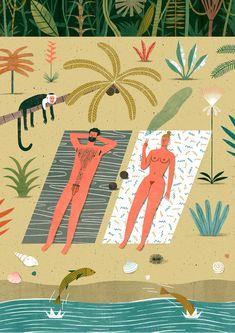 Raul Soria / Illustration / Graphics / Art / Inspiration / Colors / Costa Rica