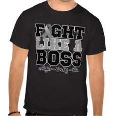 Brain Cancer Fight Like a Boss Tshirts by cancerapparel@gmail.com #BrainCancer  #fightlikeaboss  #BrainCancerawareness