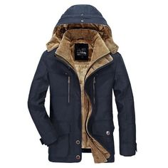 Cheap military jacket men, Buy Quality military jacket directly from China jacket down men Suppliers: Military Jackets Men 2017 Winter Outwear Windbreaker Snow Thick Warm Down Coats Mens Parka Jaqueta Masculino Militar Jacket Man's Overcoat, Parka Coat, Parka Men, Hooded Parka, Men Coat, Parka Jackets, Trench Coats, Militar Jacket, Jacket Men