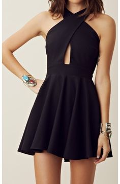 LBD - Criss Cross Vixen Dress
