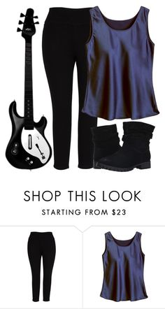 """""""Bass"""" by aprilplayssp ❤ liked on Polyvore featuring Melissa McCarthy Seven7, Chinese Laundry and plus size clothing"""