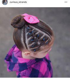 Super Cute Hairstyles, Cute Girls Hairstyles, Princess Hairstyles, Braided Hairstyles, Girl Hair Dos, Toddler Hair, Love Hair, Short Hair Styles, Hair Beauty