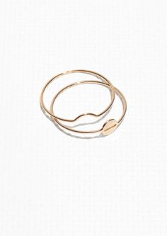 & Other Stories | Plate Duo Ring