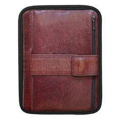 Retro-70's Personal Planner Effect iPad Case