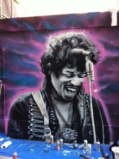 Jimi Hendrix by Gnasher