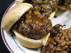 Spicy Whiskey BBQ Sliders