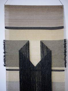 Black Diamond wall hanging by Native Line Store Weaving Textiles, Weaving Art, Weaving Patterns, Tapestry Weaving, Loom Weaving, Textile Patterns, Textile Design, Hand Weaving, Weaving Wall Hanging