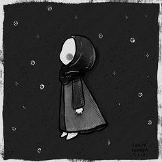 Cartoon Girl Images, Girl Cartoon, Cartoon Art, Drawing Block, Hijab Drawing, Cute Wallpapers, Wallpaper Backgrounds, Islamic Cartoon, Anime Muslim