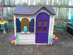 Extreme Home Makeover: Little Tikes Playhouse Edition.