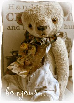Vintage bear, like this one.