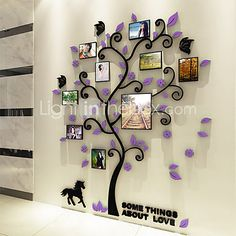 Botanical Wall Stickers 3D Wall Stickers Decorative Wall Stickers,Vinyl Material Home Decoration Wall Decal - USD $18.99 ! HOT Product! A hot product at an incredible low price is now on sale! Come check it out along with other items like this. Get great discounts, earn Rewards and much more each time you shop with us!