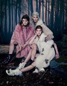 The Collaborative Vogue Japan Shoot Stars Zlata Mangafic and Others #fall #fashion trendhunter.com