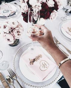 pin | bellaxlovee ✧☾ Wedding Wishes, Diy Wedding, Dream Wedding, Wedding Day, Rose Gold Aesthetic, Expensive Taste, Birthday Dinners, Gifts For Your Mom, I Got Married