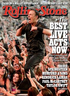 In our new issue, we rank the 50 best live acts playing today: http://rol.st/14EbO9C