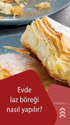 """""""Trabzon mutfağının en meşhur tatlısı nedir?"""" diye soracak olursanız hiç düşünmeden laz böreği deriz. Karadeniz mutfağına ait olan Laz böreği tatlısını evinizde kolayca hazırlamak ister misiniz? Aile sofralarında size eşlik etmesini isterseniz, işte laz böreğinin malzemeleri ve yapılışı bugünkü videomuzda."""