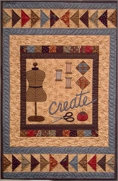 """""""Create"""" by Pam Pulyeart of Cottage Creek Quilts"""