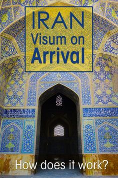 When you travel to Iran you need a tourist visa. You can now apply for an Iranian visa on arrival at Tehran airport for 30 days. But how does it work?: