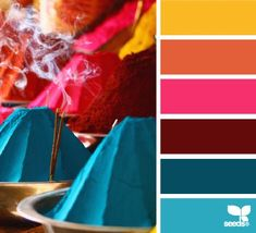 Design Seeds for all who color pigmented palette Colour Pallette, Color Palate, Colour Schemes, Color Patterns, Color Combos, Bright Colour Palette, Rose Gold Color Palette, Design Seeds, Colour Board
