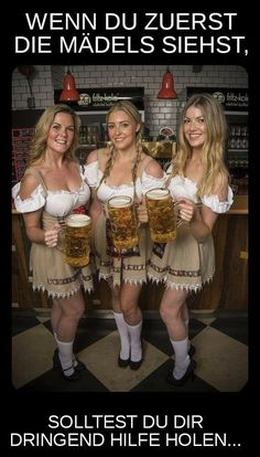 Oktoberfest, is one of the biggest beer festivals in the world. This fun fest is being held in Munich, Germany and lasts 16 days, from around mid September, up to beginning of October. This festival is a very important part of the Bavarian culture and has Octoberfest Girls, Beer Maid, Beer Girl, German Women, German Girls, German Beer, Beer Festival, Beer Lovers, Sexy Outfits