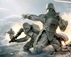 Snowtroopers at the Battle of Hoth