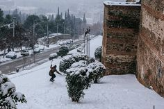 Crete Greece, Snow And Ice, Thessaloniki, Winter Day, Macedonia, Daydream, Country, Outdoor, Outdoors