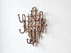 Rattan Hat Rack / Coat Hook