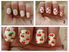Cherry me up! Nailart :: Nails and Cakes