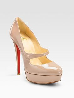 Mary Jane Pumps by the lovely Christian Louboutin