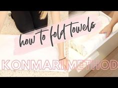 According to Marie Kondo, towels are one of the most common things people accumulate without thinking. Kondo suggests storing towels upright in your bathroom cupboard, or a closet if you don...