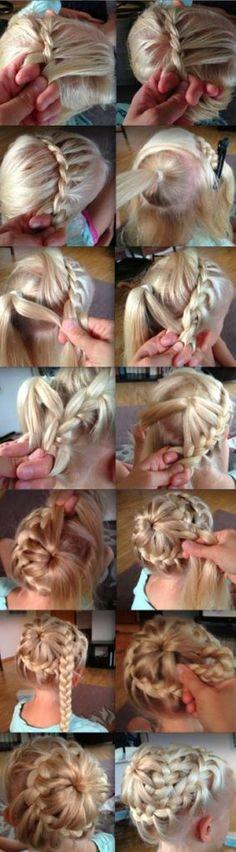 I Love DIY: DIY Hairstyle