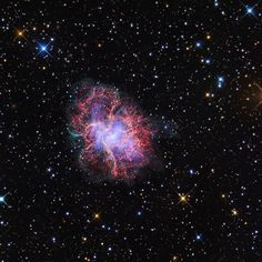 That's the Crab Nebula and it USED TO BE A STAR #space #nasa #nasa #astronomy #youtube