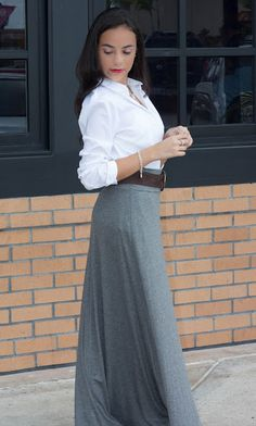 1000 Images About Grey Maxi Skirt On Pinterest Grey