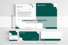 Corporate Identity by artisanHR on @creativemarket