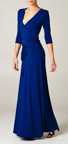 Jenna Dress in Elan Blue