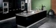 cocina-lacado-brillo-negro-grafito-snaidero.jpg (840×430)