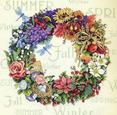 Gallery.ru / Фото #1 - Wreath of all Seasons (Венок всех сезонов) - Allrossa