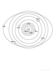 Solar System 5th Grade Lessons | ... edges) of the Solar System. Or go to a pdf of the poem worksheet