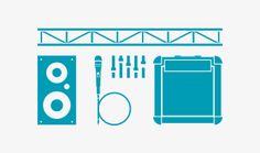 Equipment | Mit der richtigen Technik und mit Toningenieuren sind wunderbare Sounderlebnisse möglich. Auch beim Bühnenaufbau können wir Ihnen weiterhelfen. Für visuelle Erlebnisse bieten wir außerdem die Nutzung unserer LED-Leinwand an.