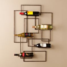 Wildon Home ® Declan Wall Mount Wine Rack